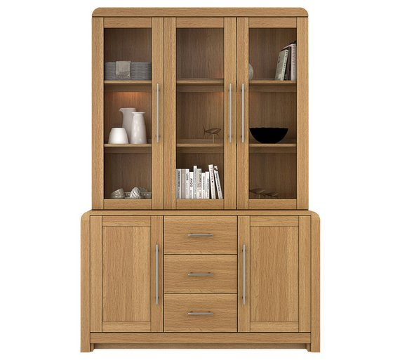 Buy Heart Of House Elford 5 Door 3 Drawer Cabinet