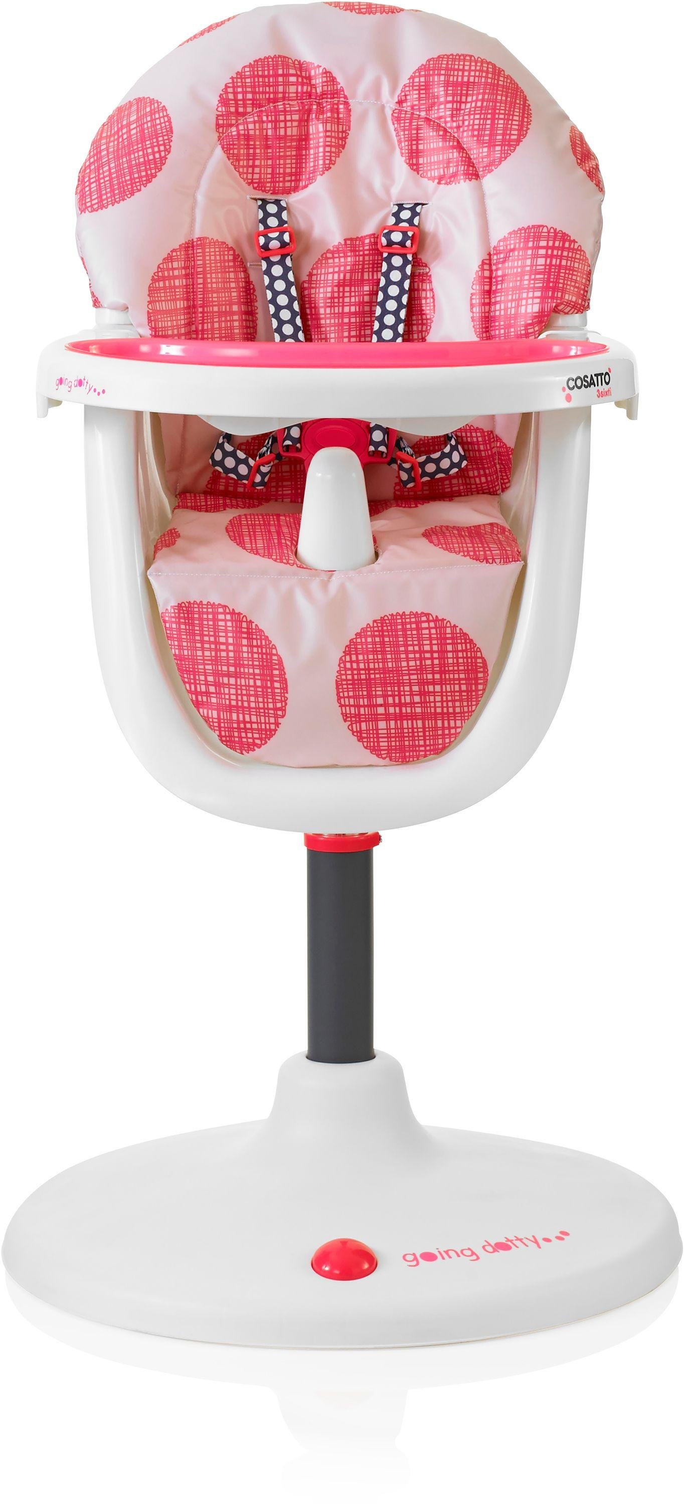 Image of Cosatto - 3Sixti - Highchair - Macaroon