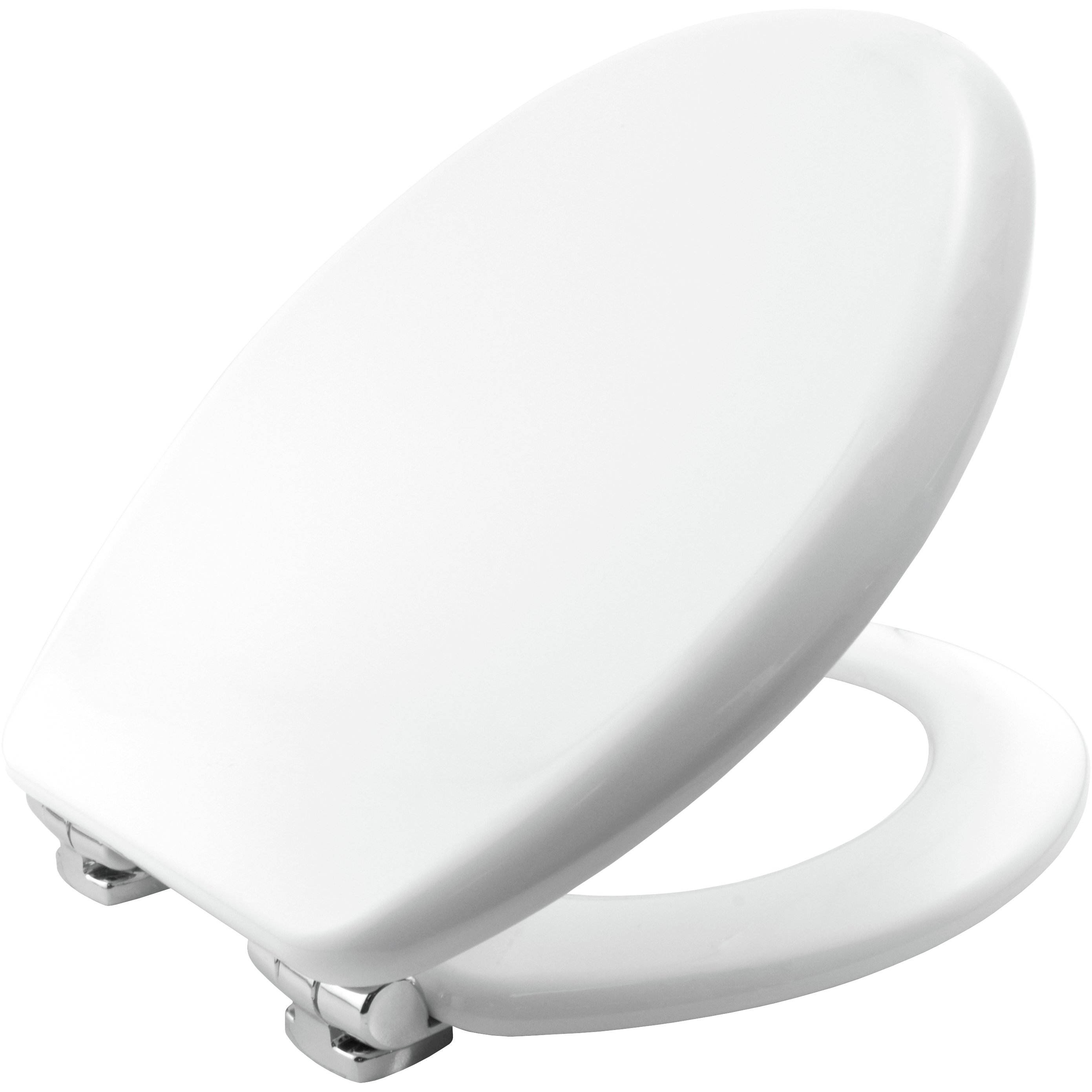 bemis vegas moulded wood slowly closing toilet seat white. Black Bedroom Furniture Sets. Home Design Ideas