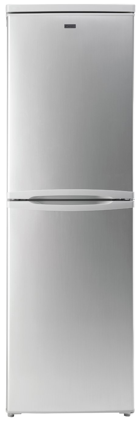Candy CCBF5172AK Frost Free Tall Fridge Freezer - Silver Best Price, Cheapest Prices