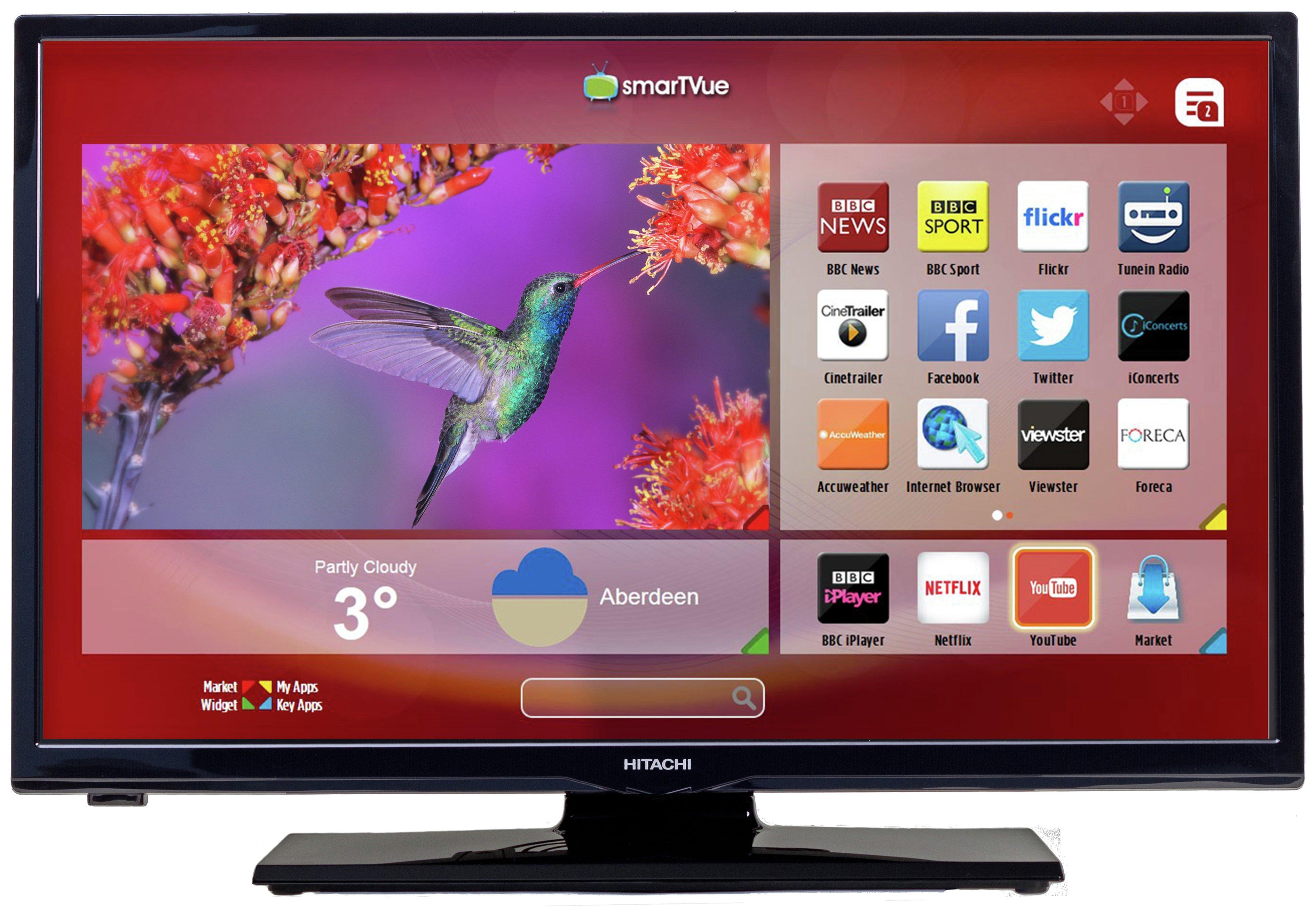 HItachi - 24 Inch - HD Ready Freeview HD - Smart TV.