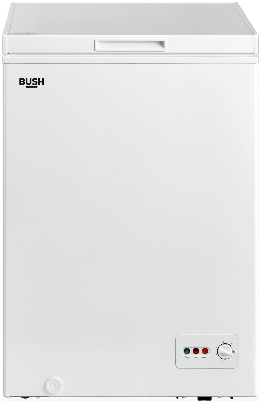 Bush BCF99L Chest Freezer - White Best Price, Cheapest Prices