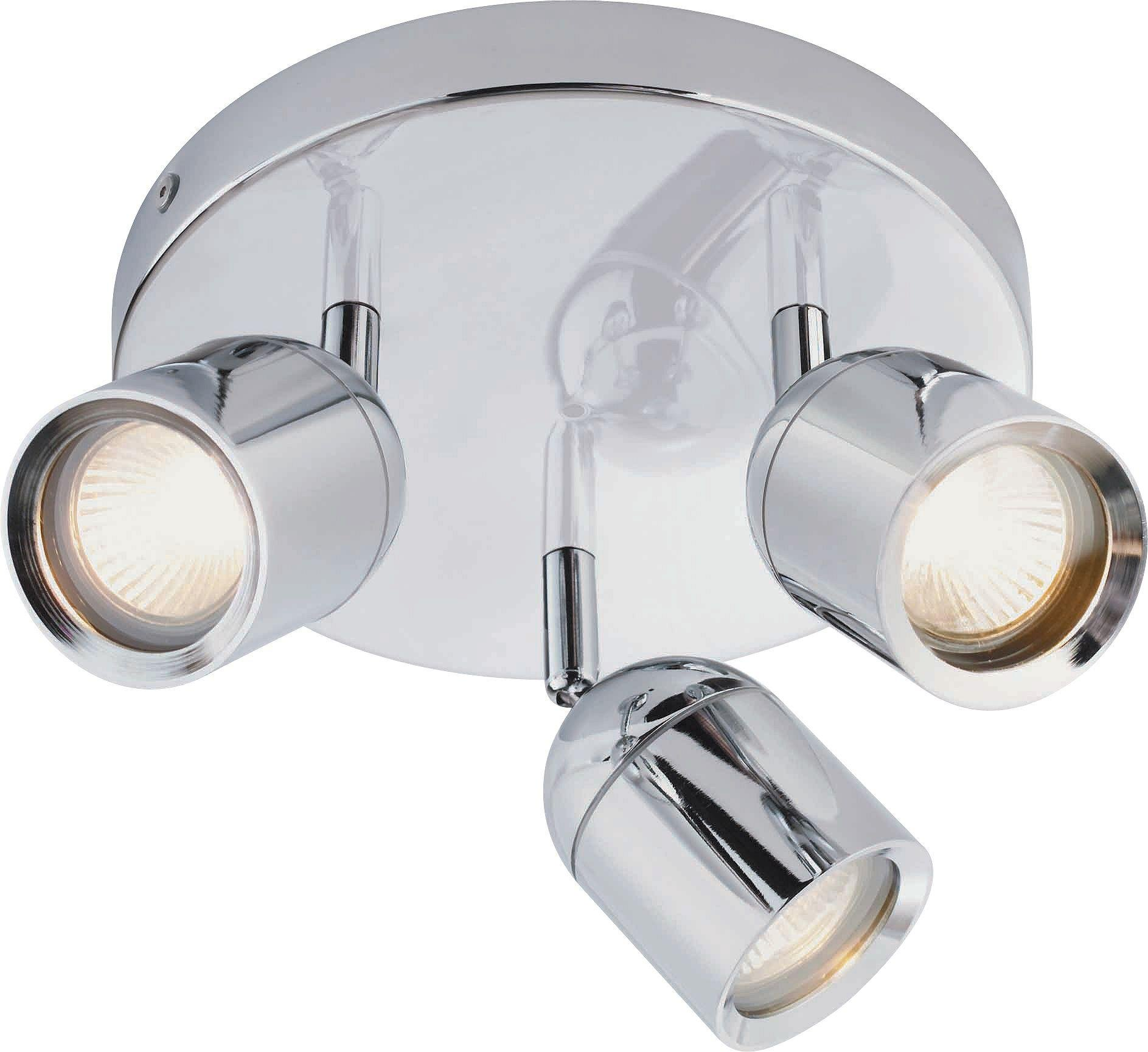 Argos Home Baretta 3 Light Bathroom Spotlight - Chrome