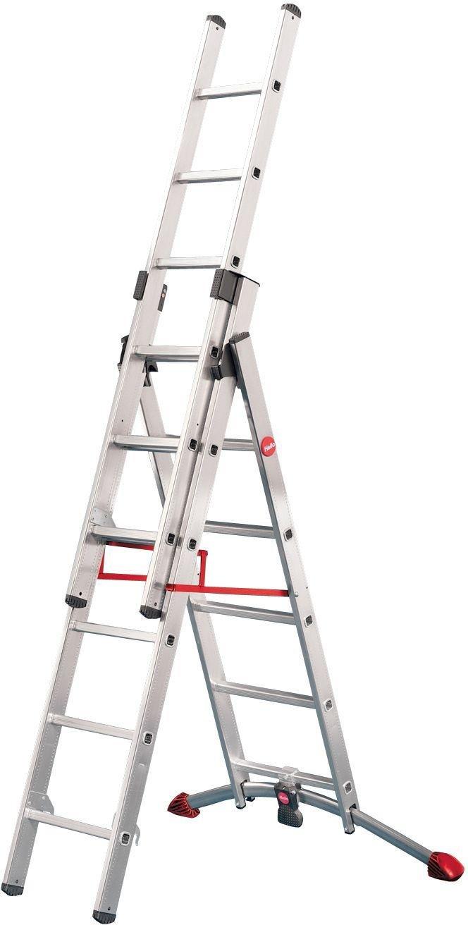 Hailo - Profilot 6 Rung Combination Ladder