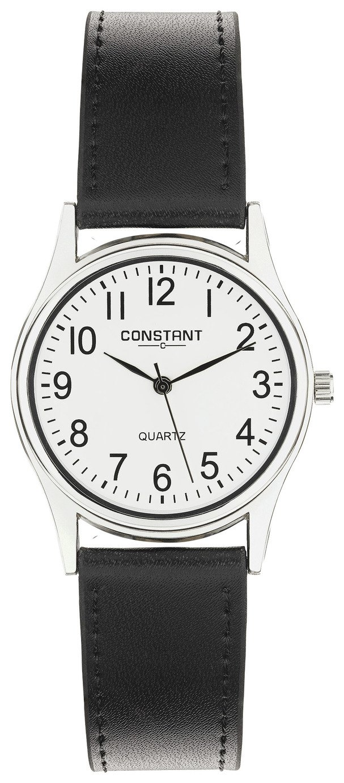 Constant - Mens Quartz Black Strap - Watch