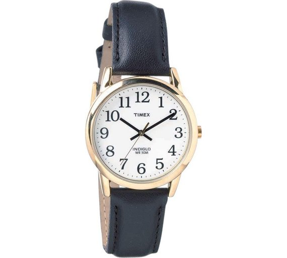 buy timex men s gold plated black strap watch at argos co uk timex men s gold plated black strap watch251 5737