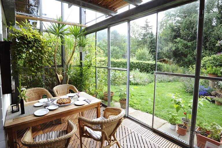 Conservatory furniture ideas.