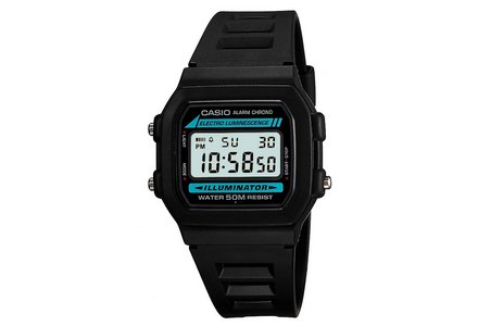 Casio Men's Chronograph and Alarm Digital LCD Watch.