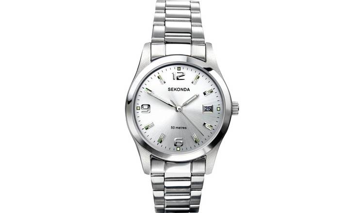 Sekonda Men's Quartz Stainless Steel Bracelet Watch