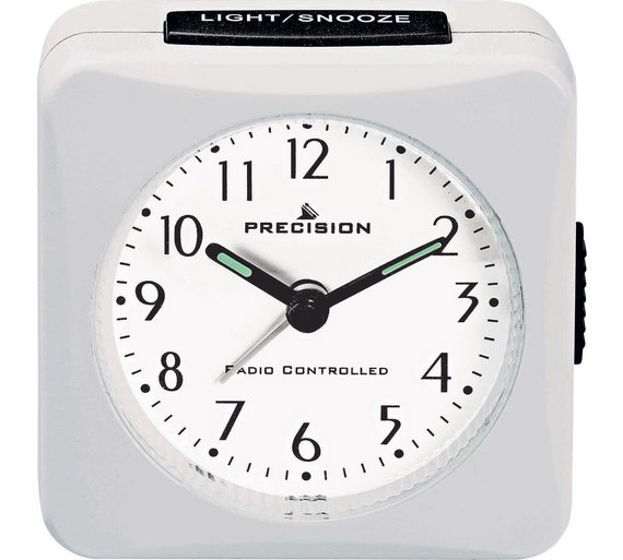 buy precision radio controlled alarm clock at your online shop for clocks home. Black Bedroom Furniture Sets. Home Design Ideas