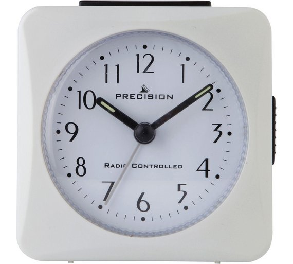buy precision radio controlled alarm clock at your online shop for clocks home. Black Bedroom Furniture Sets. Home Design Ideas
