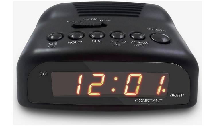 Buy Constant Digital Alarm Clock Clocks Argos