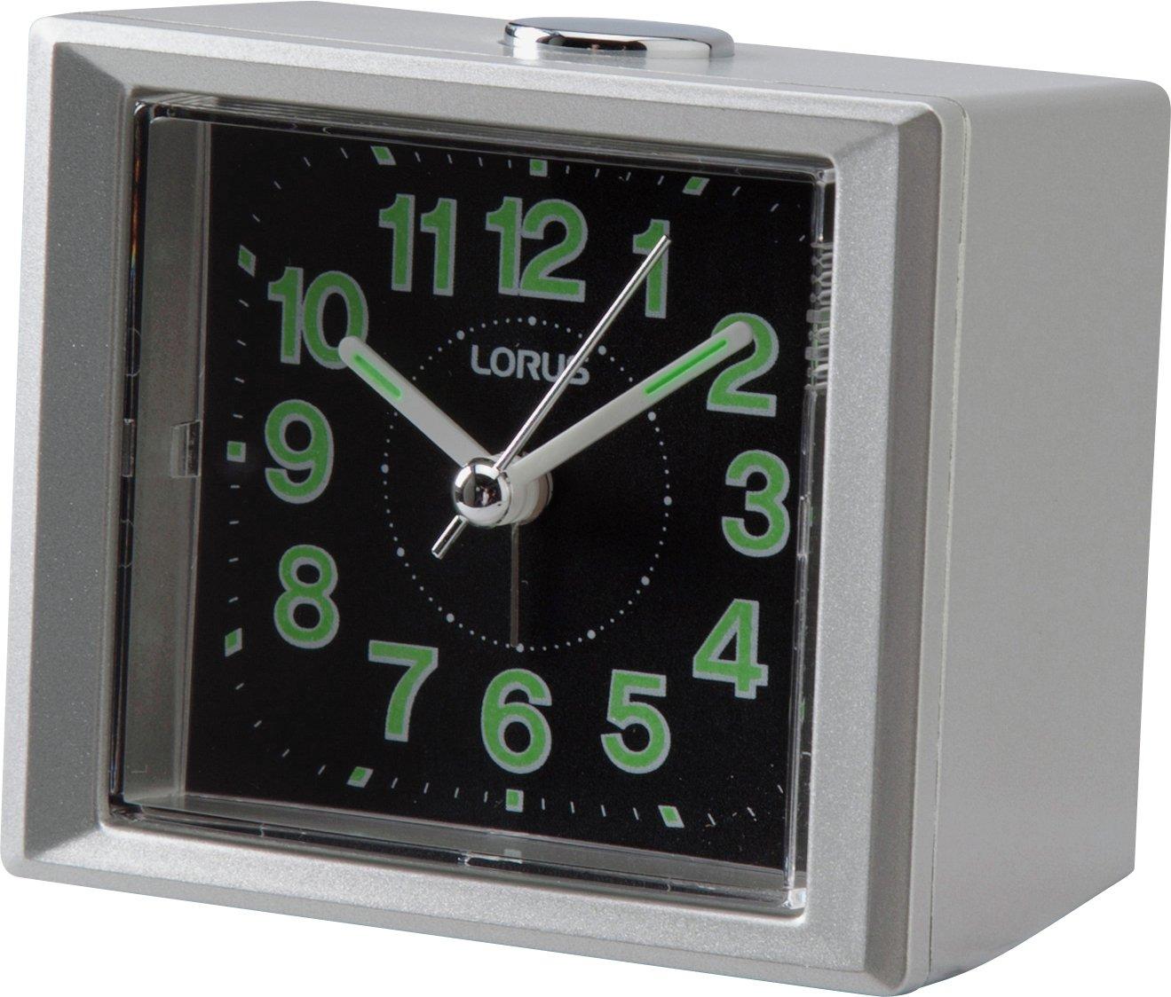 lorus sweeper alarm clock gay times uk. Black Bedroom Furniture Sets. Home Design Ideas