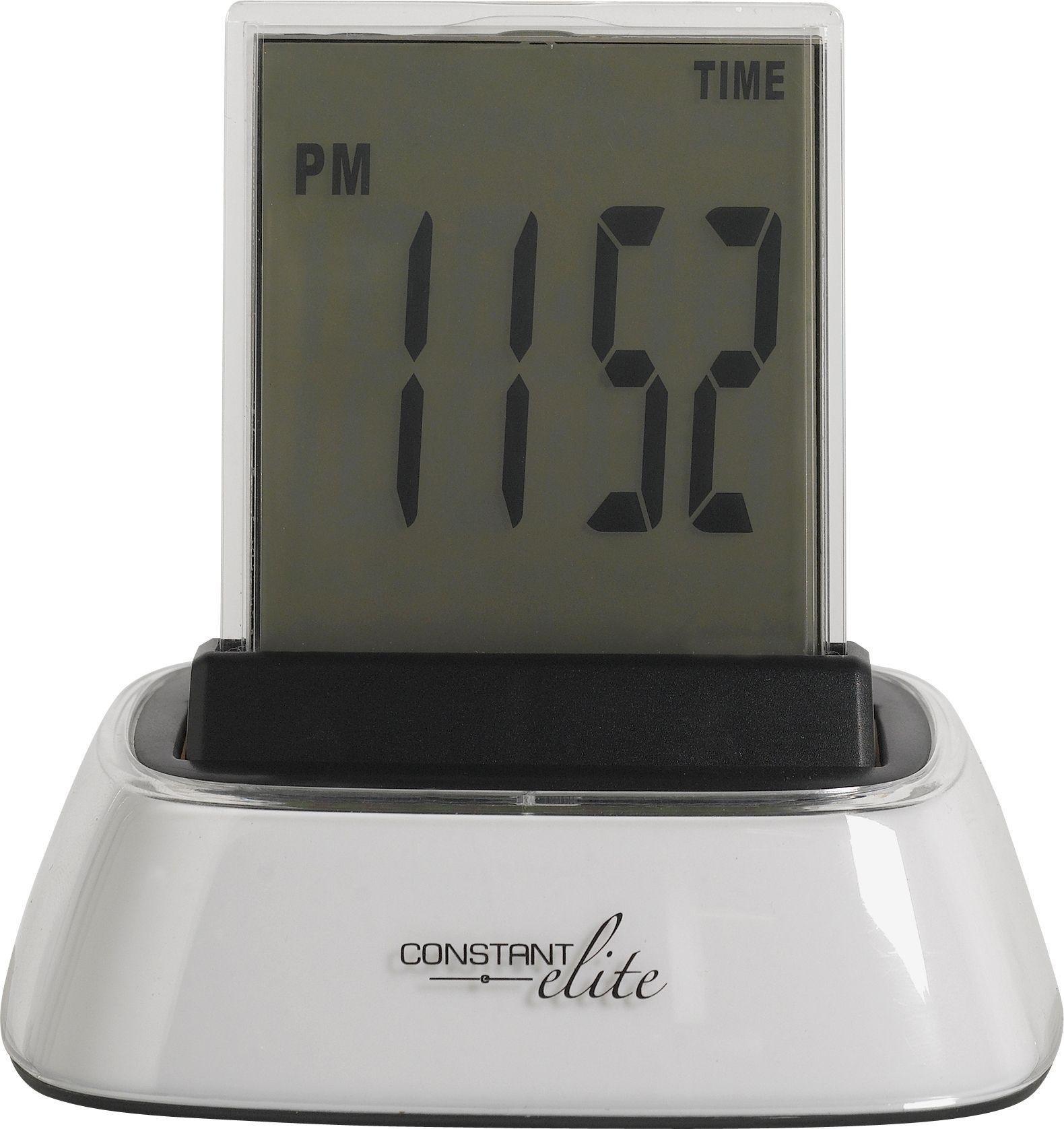 Constant Elite Colour Change LCD Alarm Clock