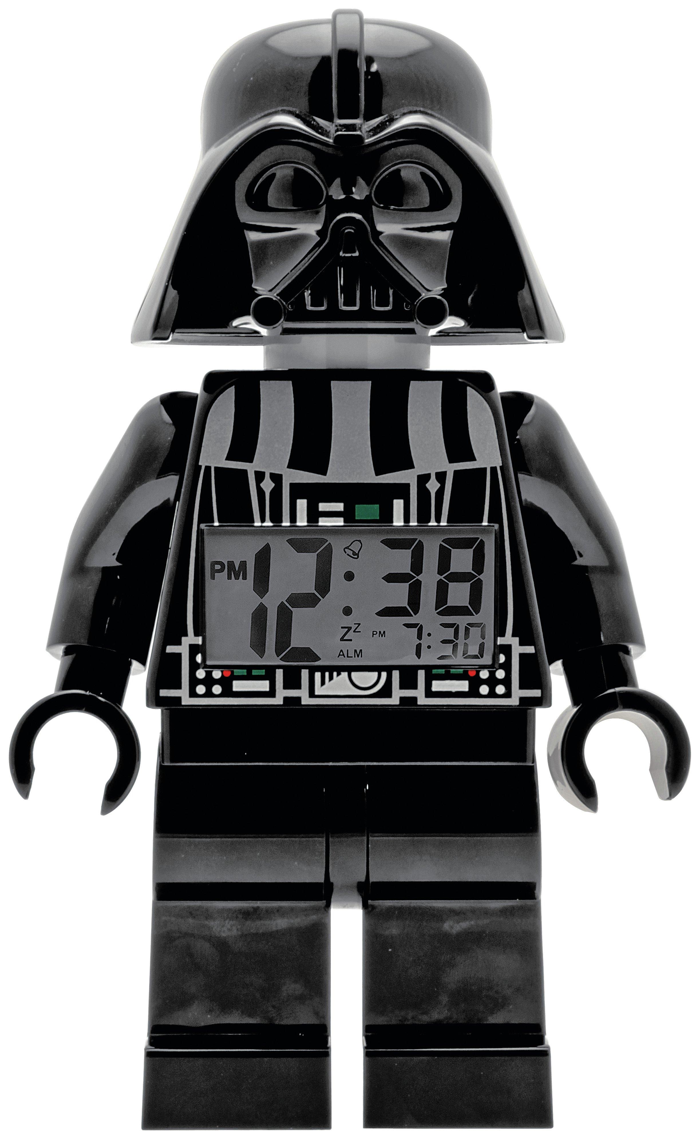 LEGO Star Wars Darth Vader Minifigure Alarm Clock