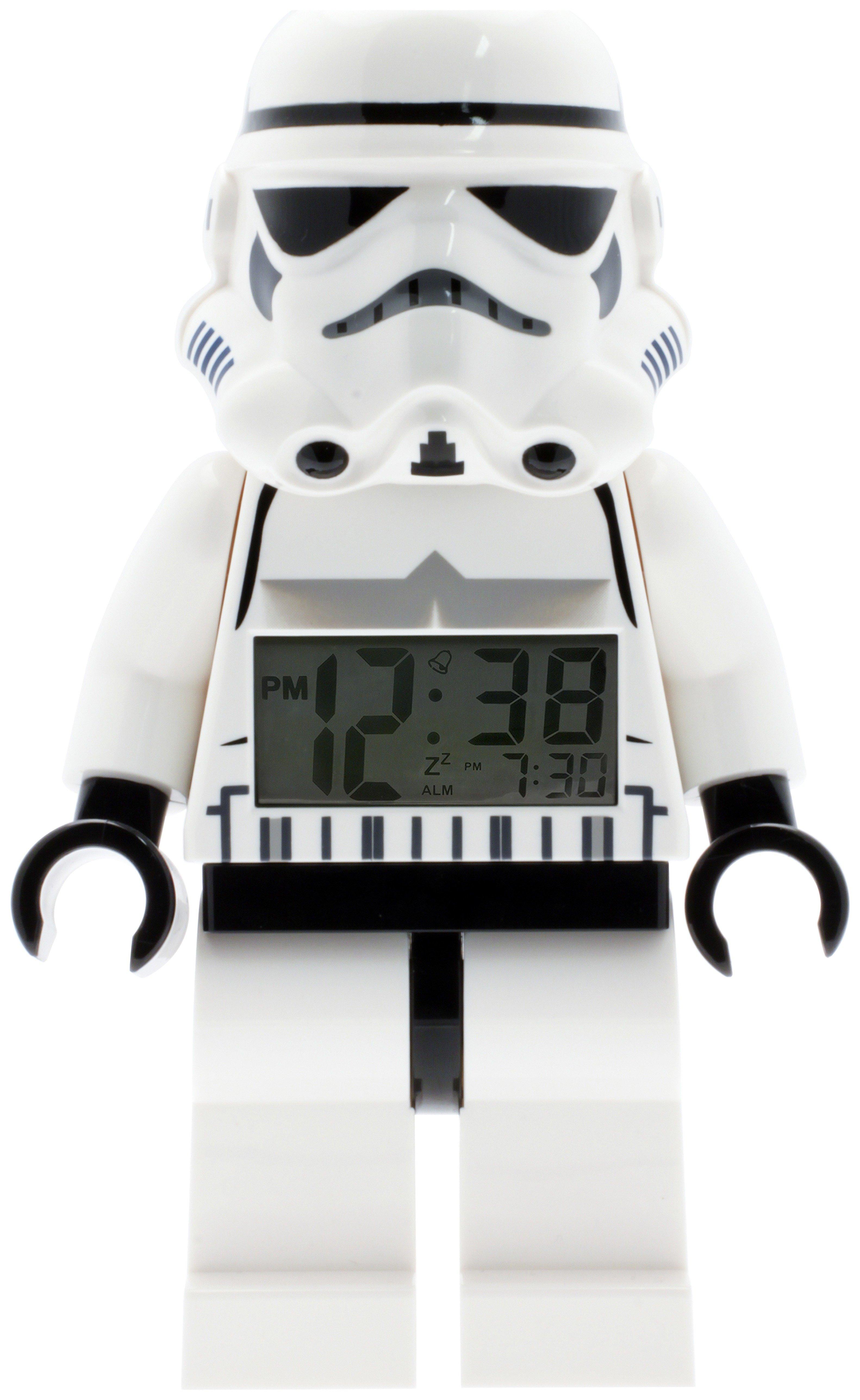LEGO Star Wars Stormtrooper Minifigure Alarm Clock