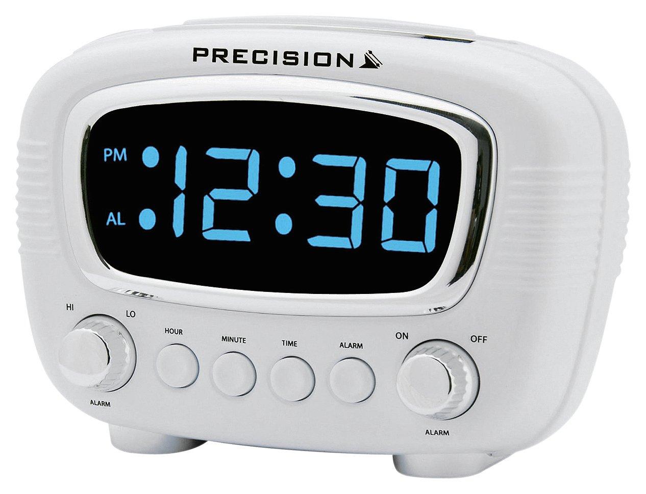 Precision Retro Radio Controlled Alarm Clock