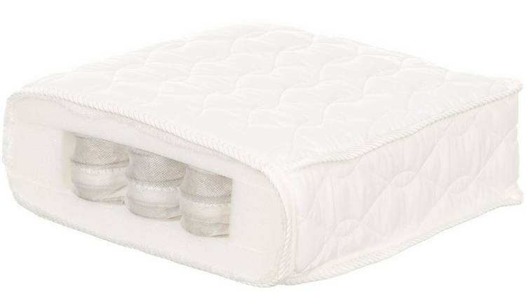 half off a939f 14084 Buy Obaby 140 x 70cm Pocket Sprung Cot Bed Mattress | Cot and cot bed  mattresses | Argos