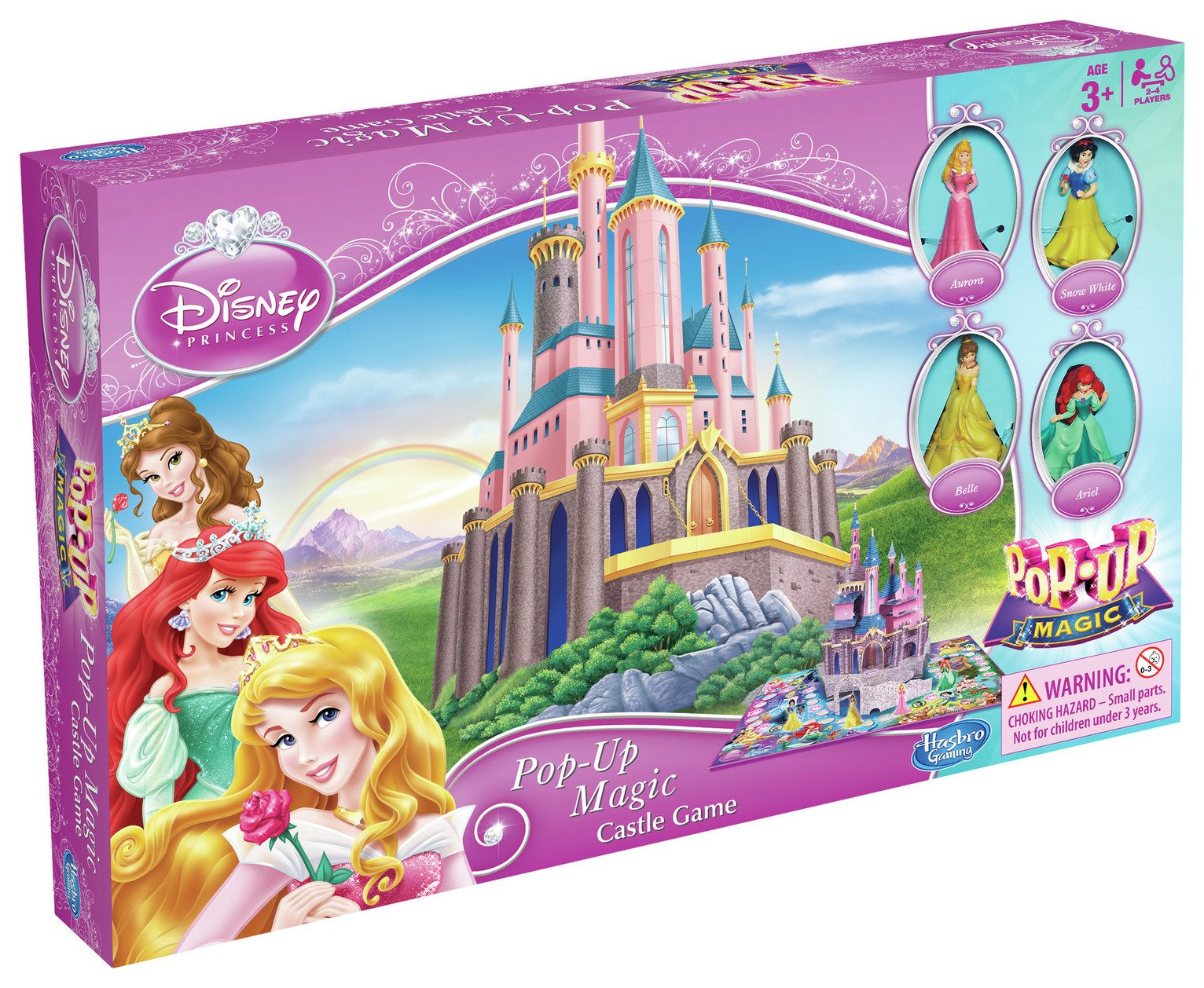 Image of Disney Princess Pop Up Magic Cinderella's Castle Game.