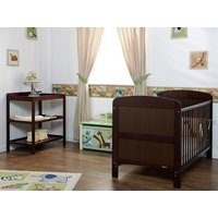 Obaby Grace 2 Piece Nursery Furniture Set - Walnut.