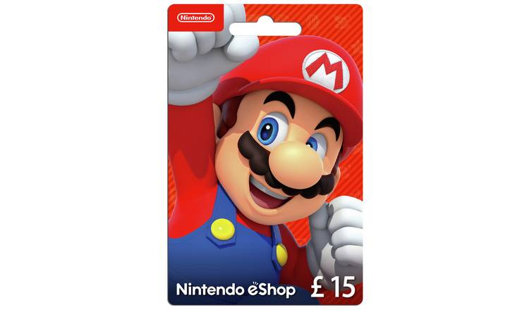 Nintendo E-Shop Card - £15.