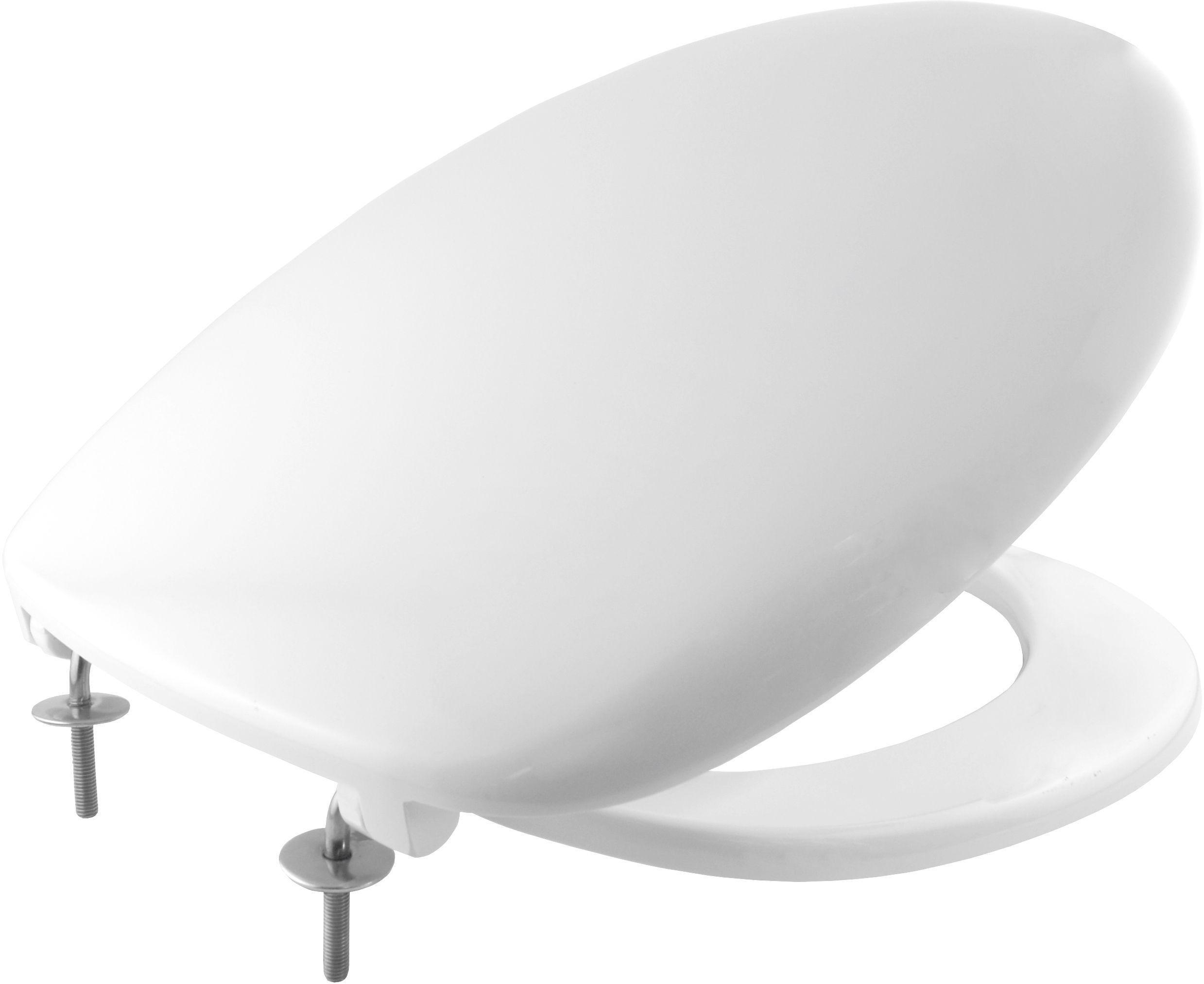 Bemis Imola Thermoset Plastic Statite Toilet Seat - White