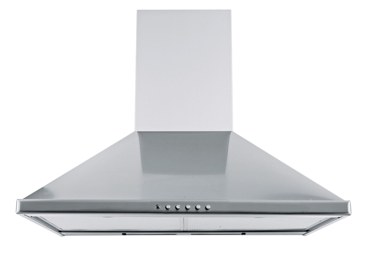 60cm Chimney Cooker Hood - Stainless Steel