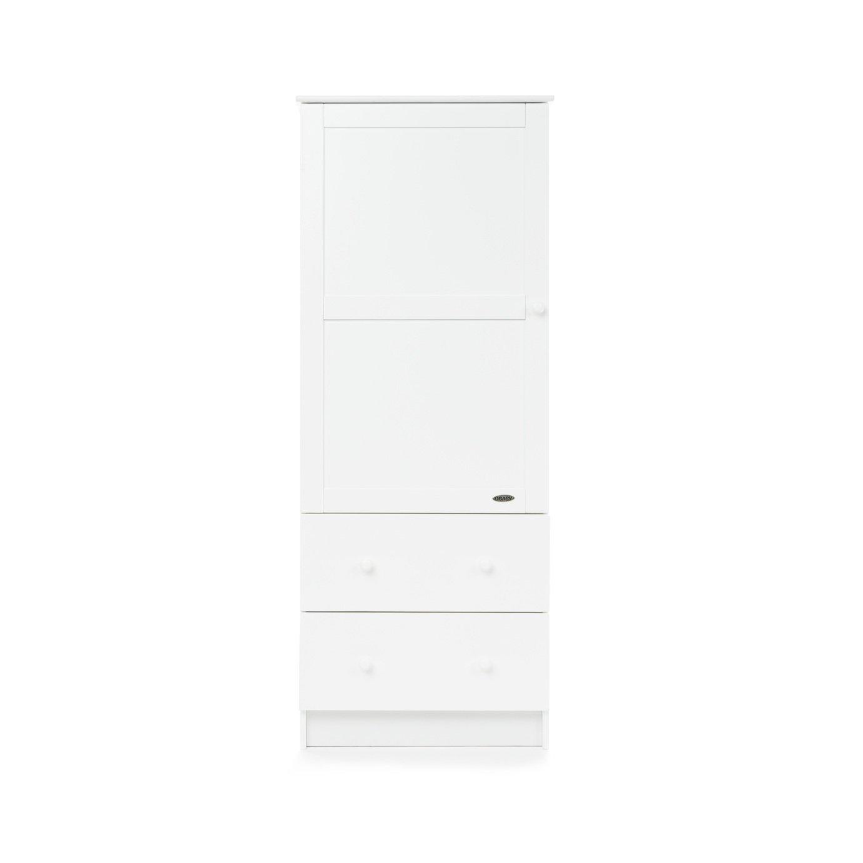 Image of Obaby Single Wardrobe - White.