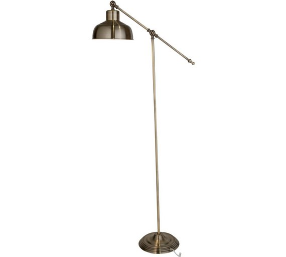 Buy argos home homes classic task floor lamp antique brass floor argos home homes classic task floor lamp antique brass aloadofball Choice Image