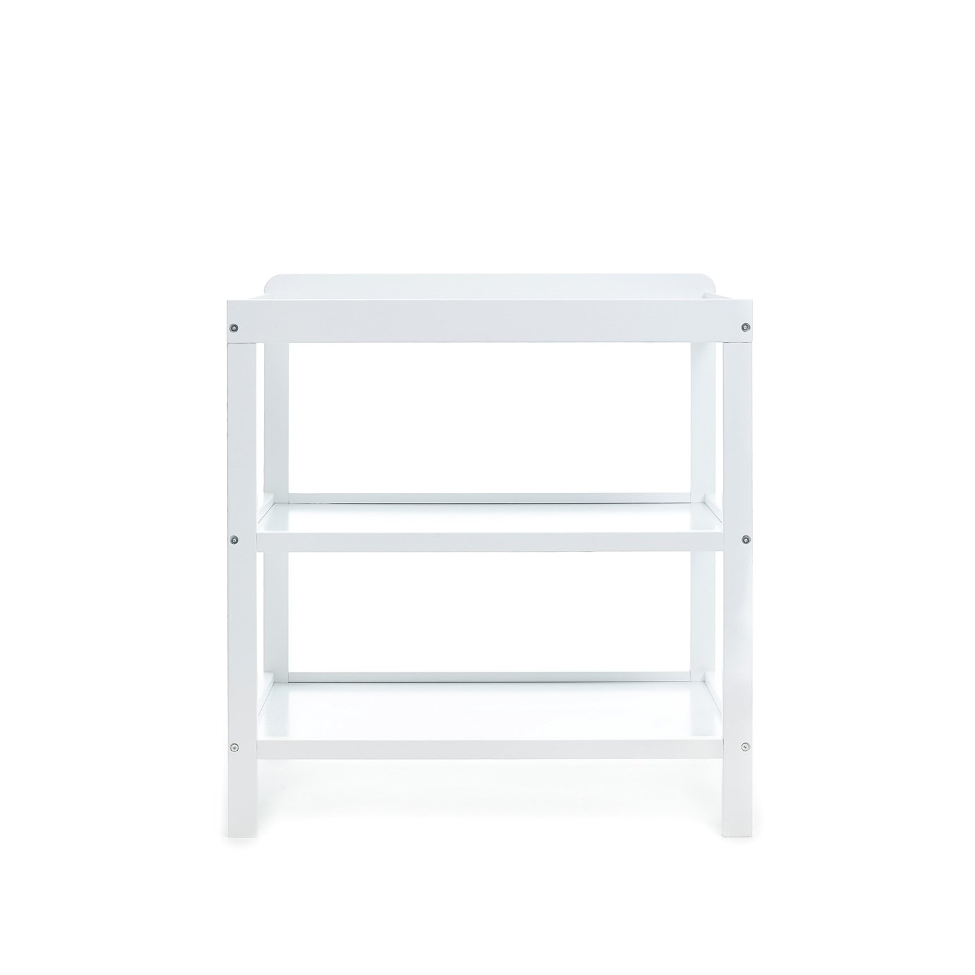 obaby open changing unit  white.