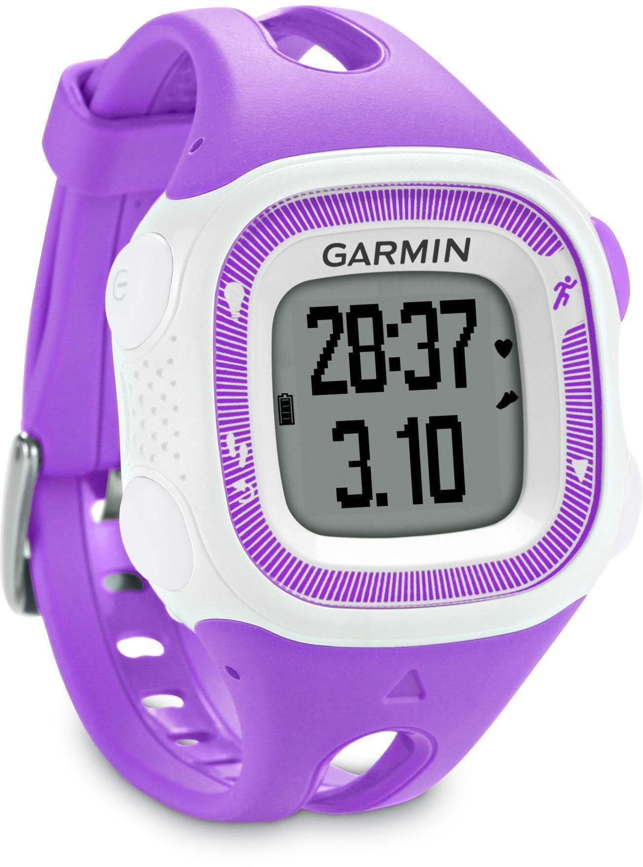 Garmin Garmin Forerunner 15 GPS Running Watch - Purple/White.