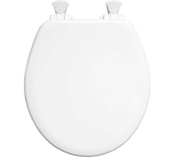 buy bemis orlando next step toilet seat white at argos. Black Bedroom Furniture Sets. Home Design Ideas
