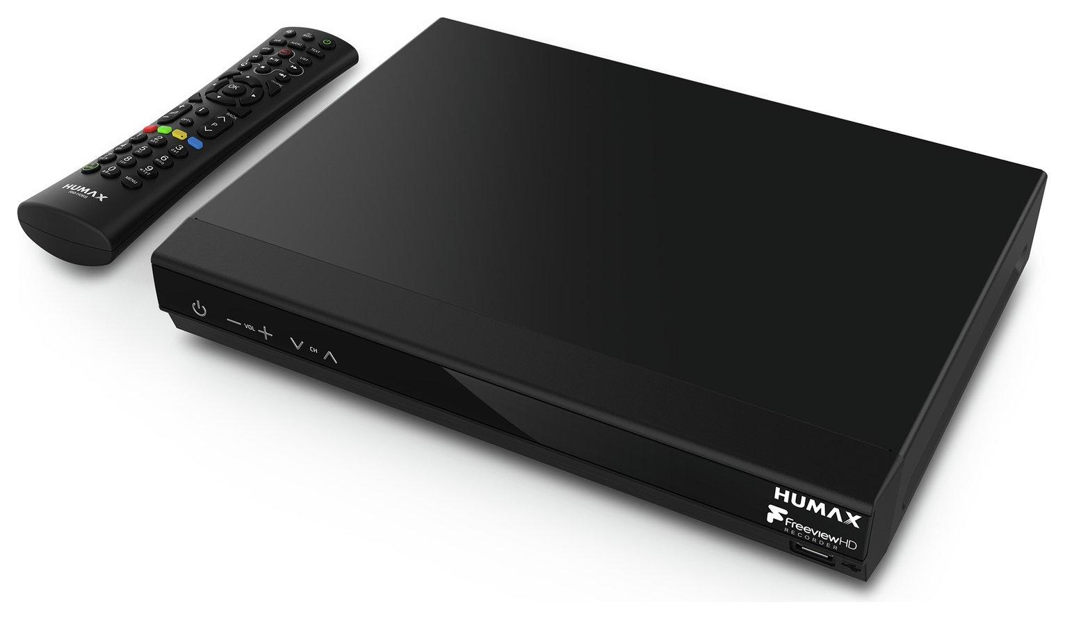 Humax HDR-1800T 320GB Freeview+ HD Smart Digital TV Recorder - Black
