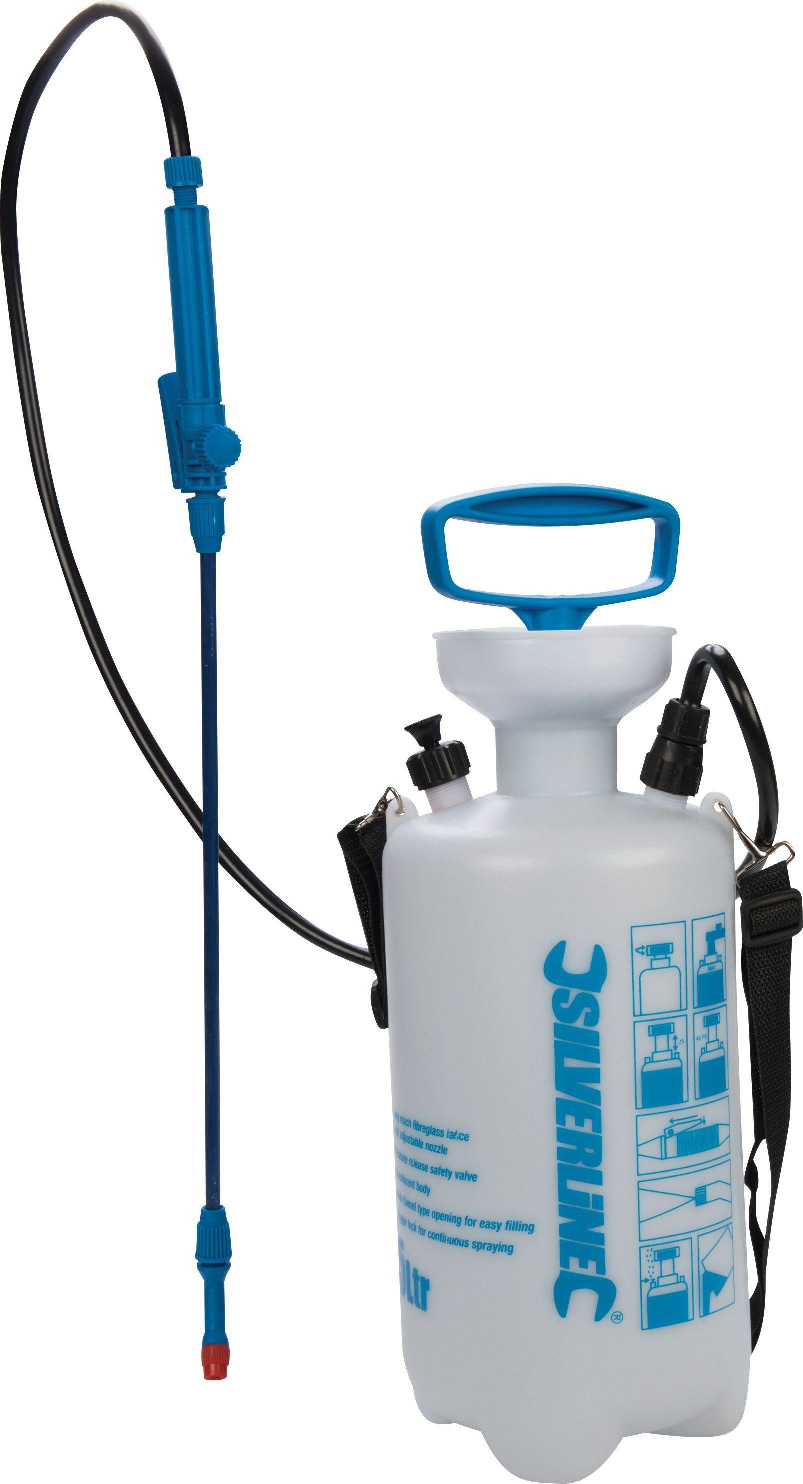 Silverline 675108 Pump-Up Pressure Sprayer - 5Ltr Capacity