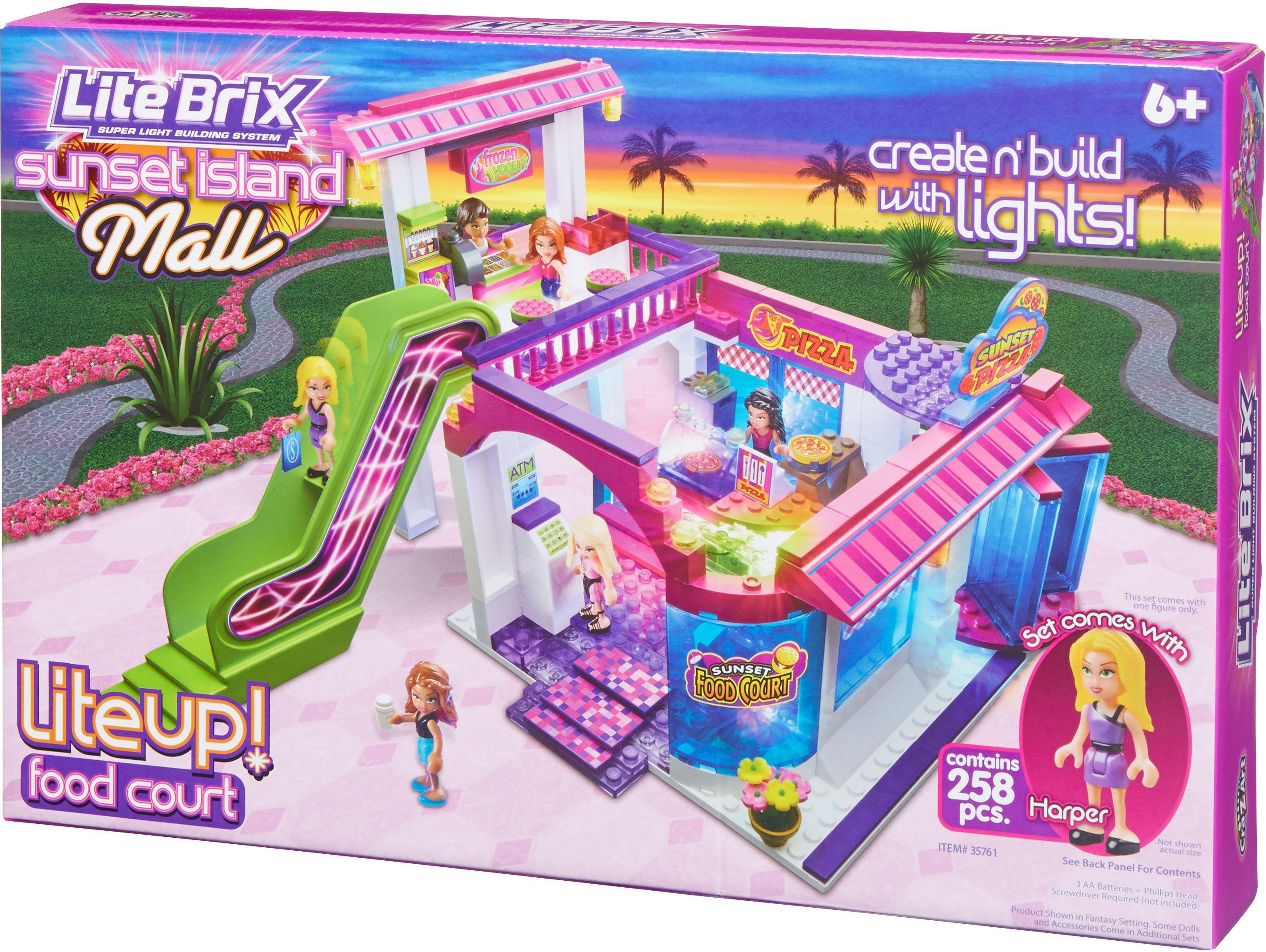 lite-brix-sunset-mail-food-court