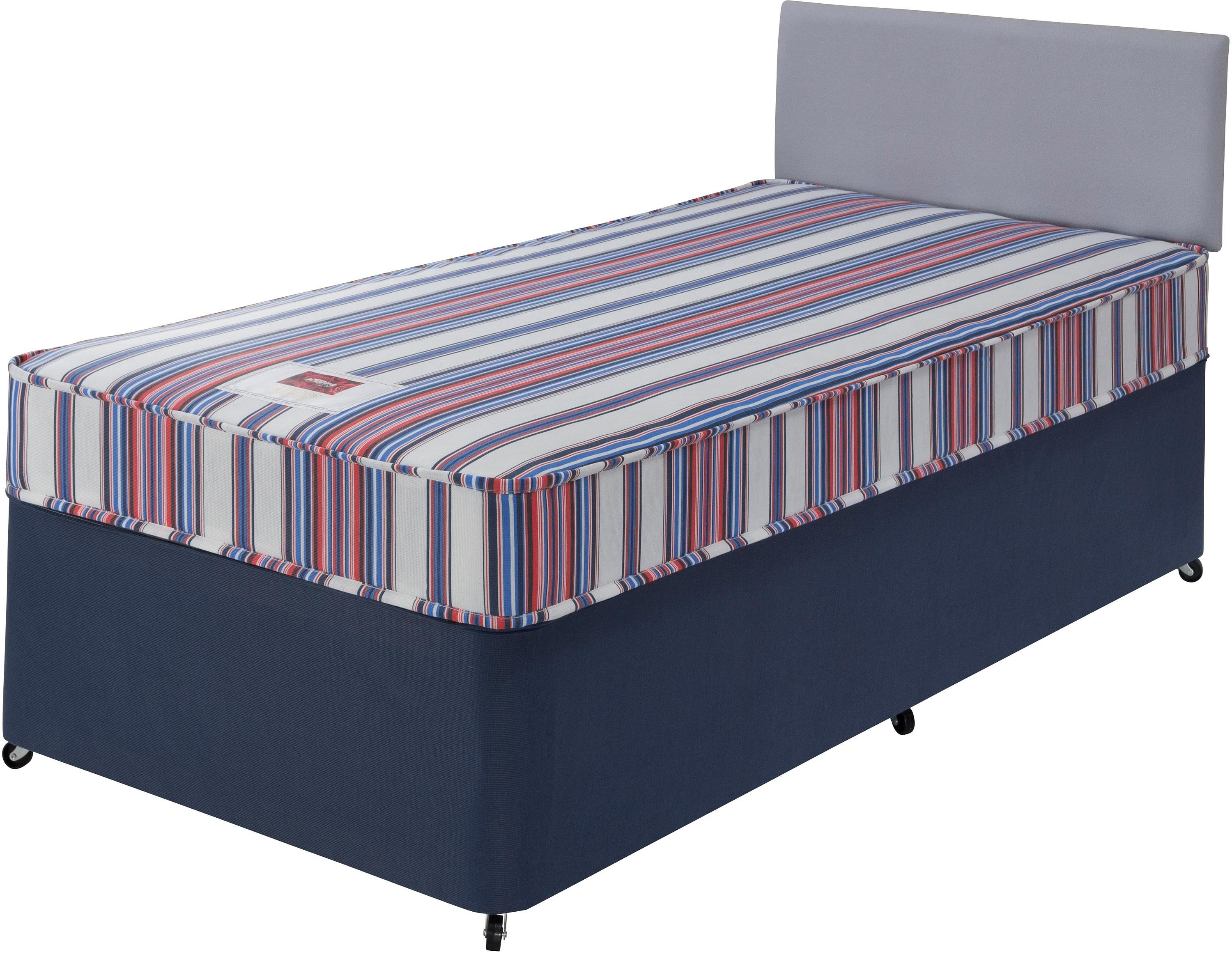 Forty Winks Bibby Basic Shorty Divan Bed With Octer