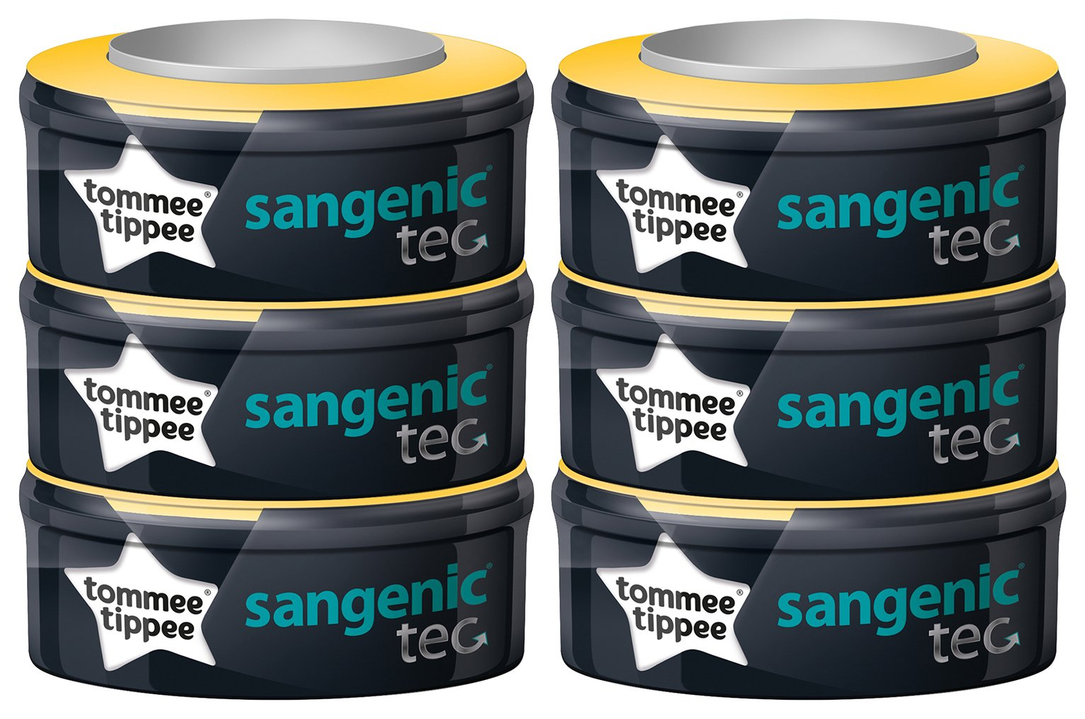Tommee Tippee Sangenic Tec Refills x 6,