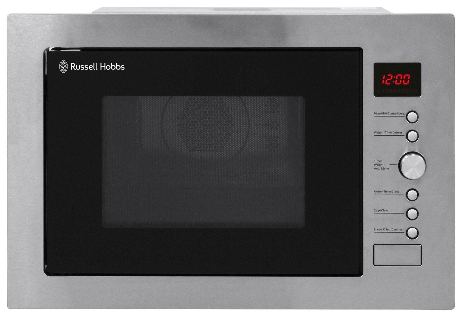 Russell Hobbs RHBM3201 1000W Built In Microwave - S/Steel