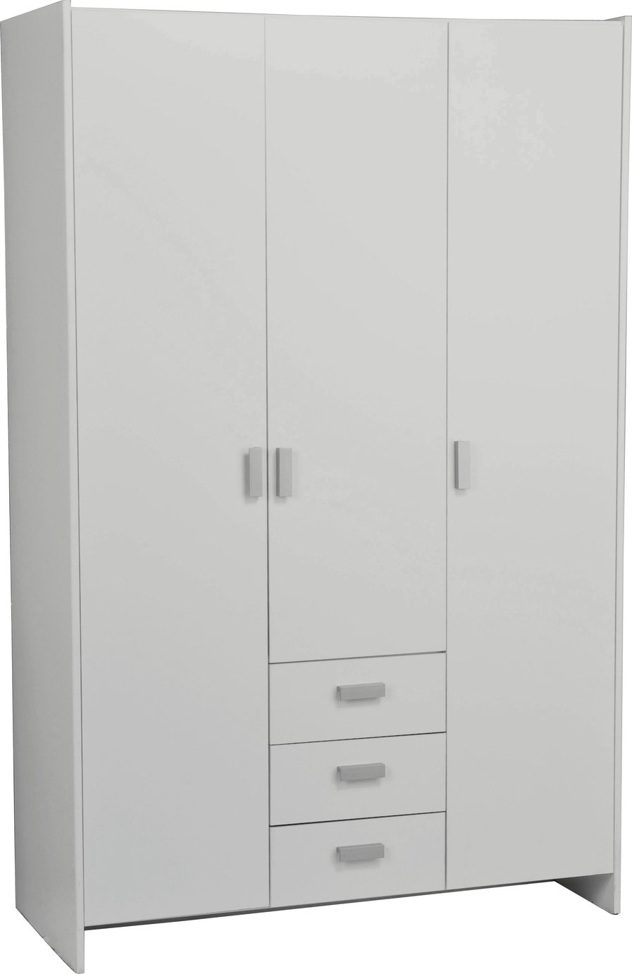 Argos Home New Capella 3 Door 3 Drawer Wardrobe
