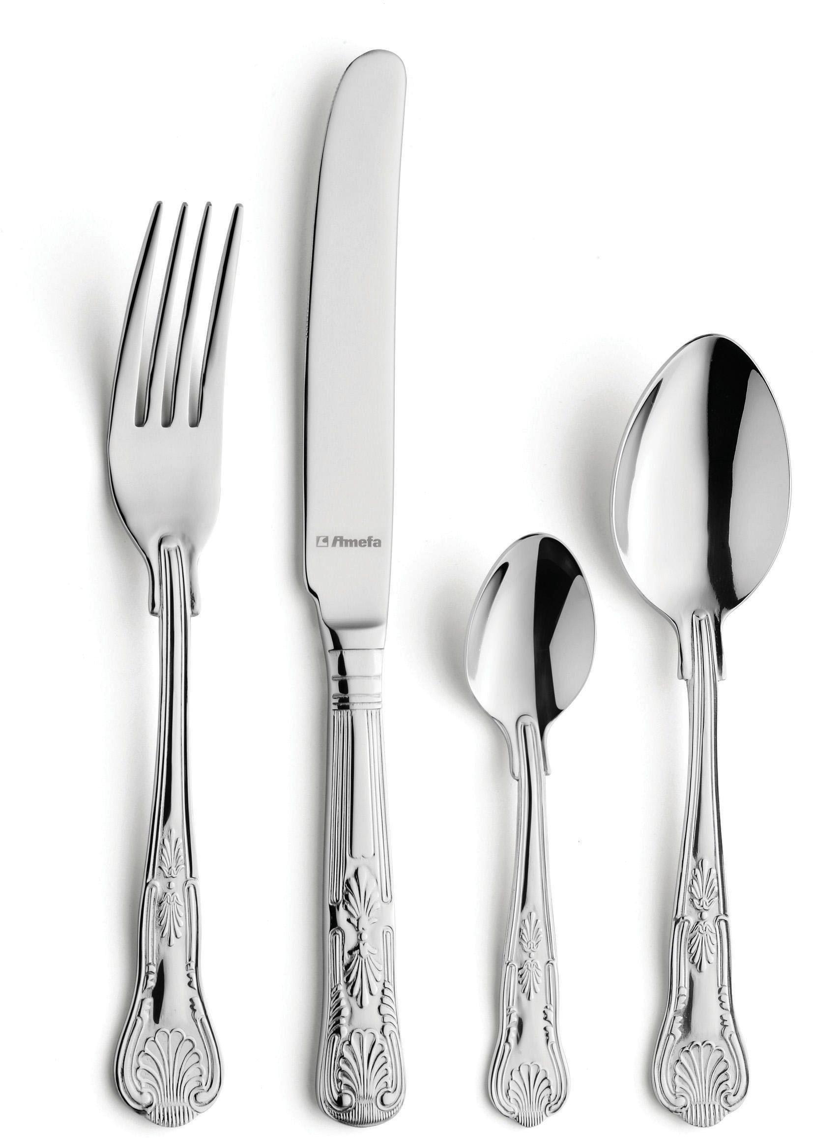 amefa-vintage-kings-58-piece-cutlery-set