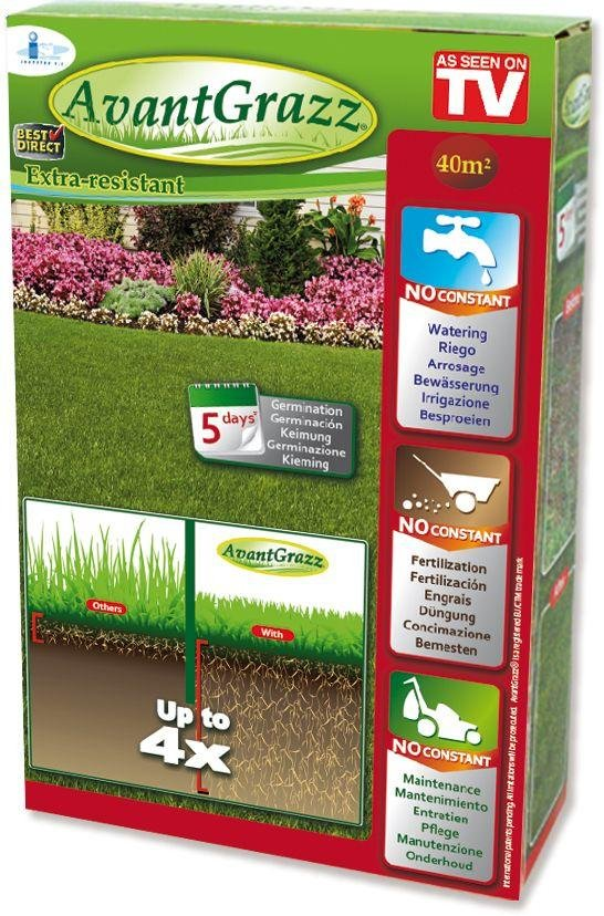 Avant Grazz Extra Resistant Lawn Seed. lowest price