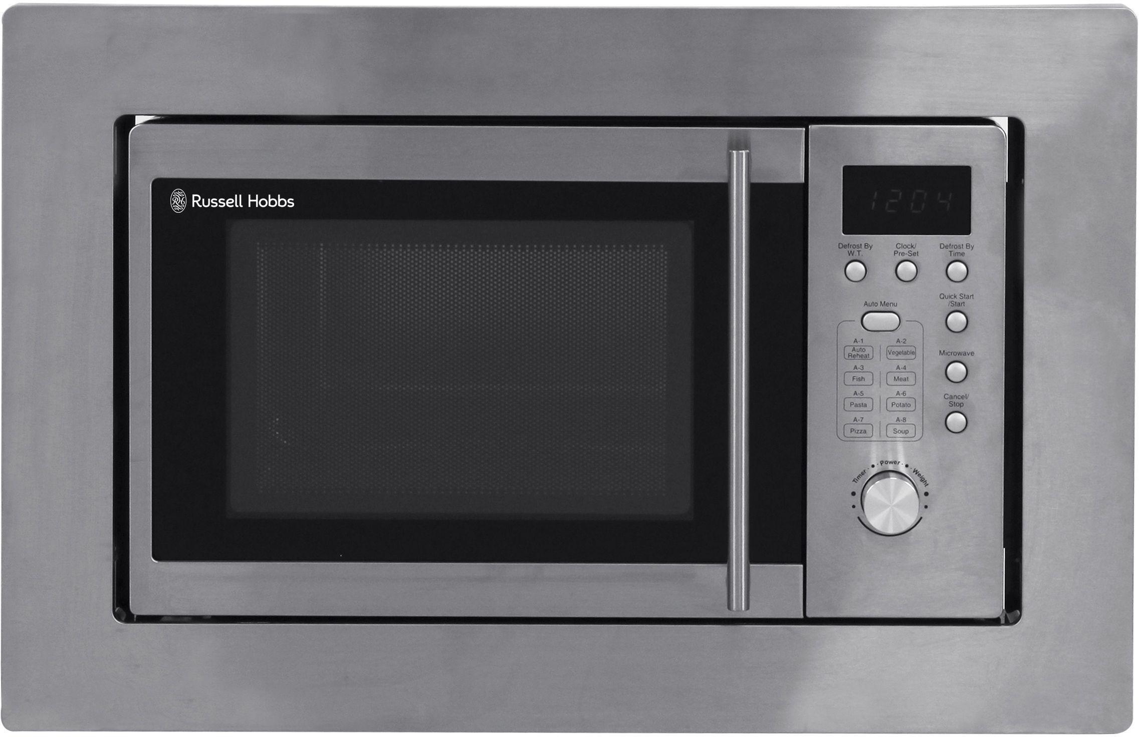 Russell Hobbs - Built-in 20 Litre Digital Microwave - S Steel