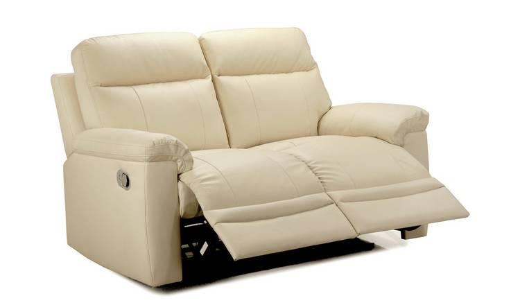Buy Argos Home Paolo 2 Seater Manual Recliner Sofa - Ivory | Sofas | Argos