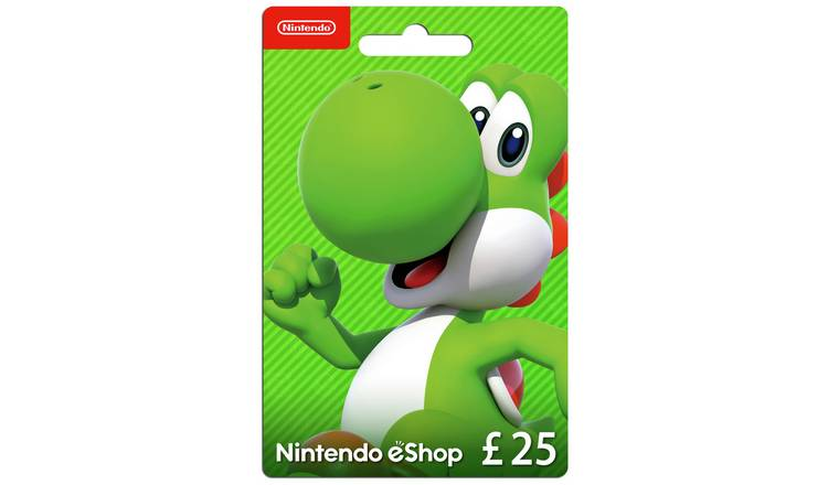 Nintendo E-Shop Card - £25