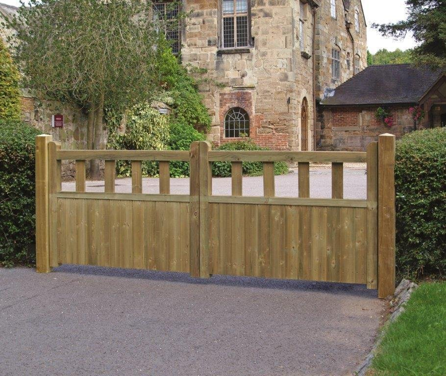 Grange Fencing Fortress Double Gate - 90cmx240cm.