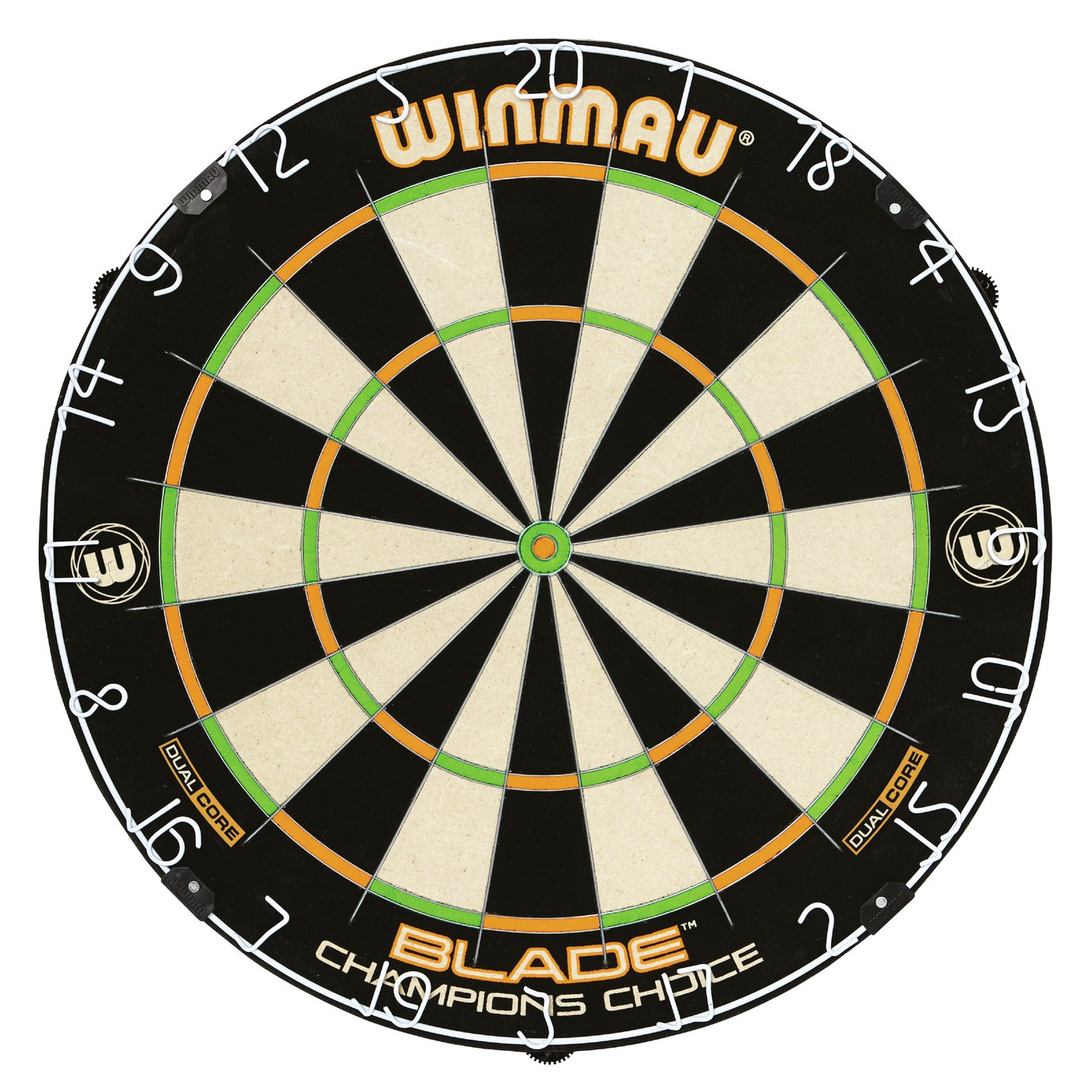 Winmau - Blade Champion's Choice Dual Core Bristle Dartboard lowest price