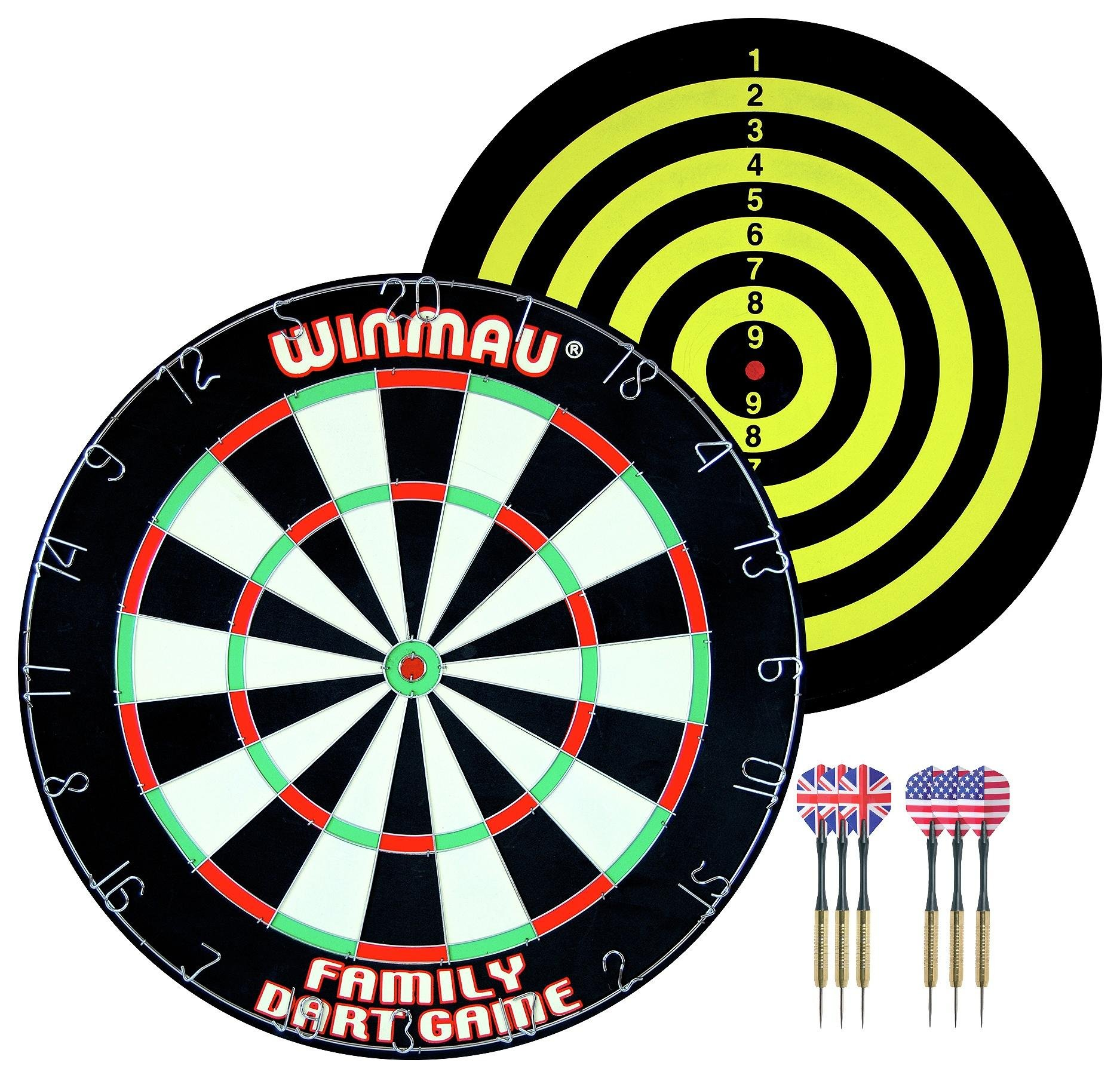 Buy Winmau Family Dart Game Dartboards And Dart Cabinets Argos