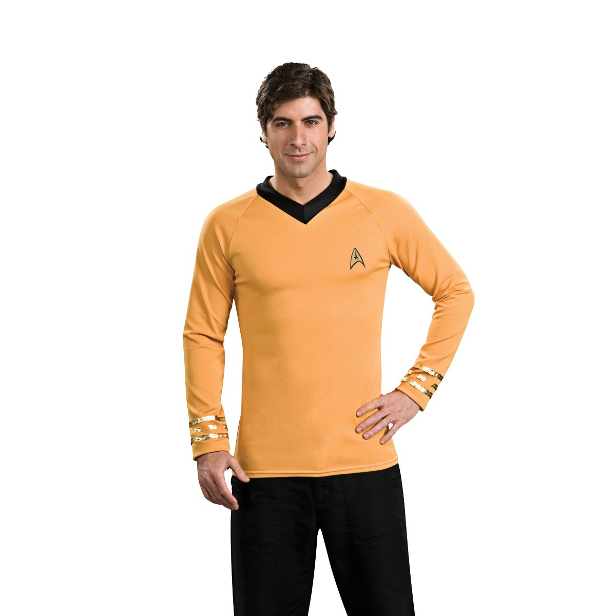 rubies-star-trek-gold-shirt-costume-medium