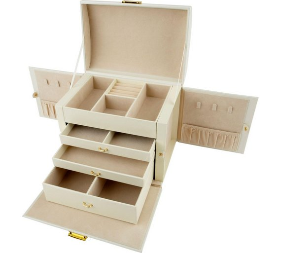 Jewelry Box With Drawers