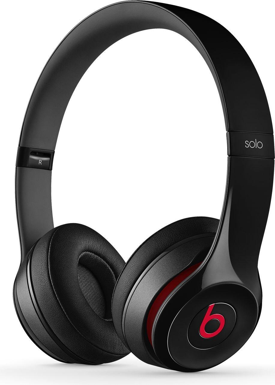 Image of Beats - by Dr Dre Solo 20 On-Ear Headphones - Black